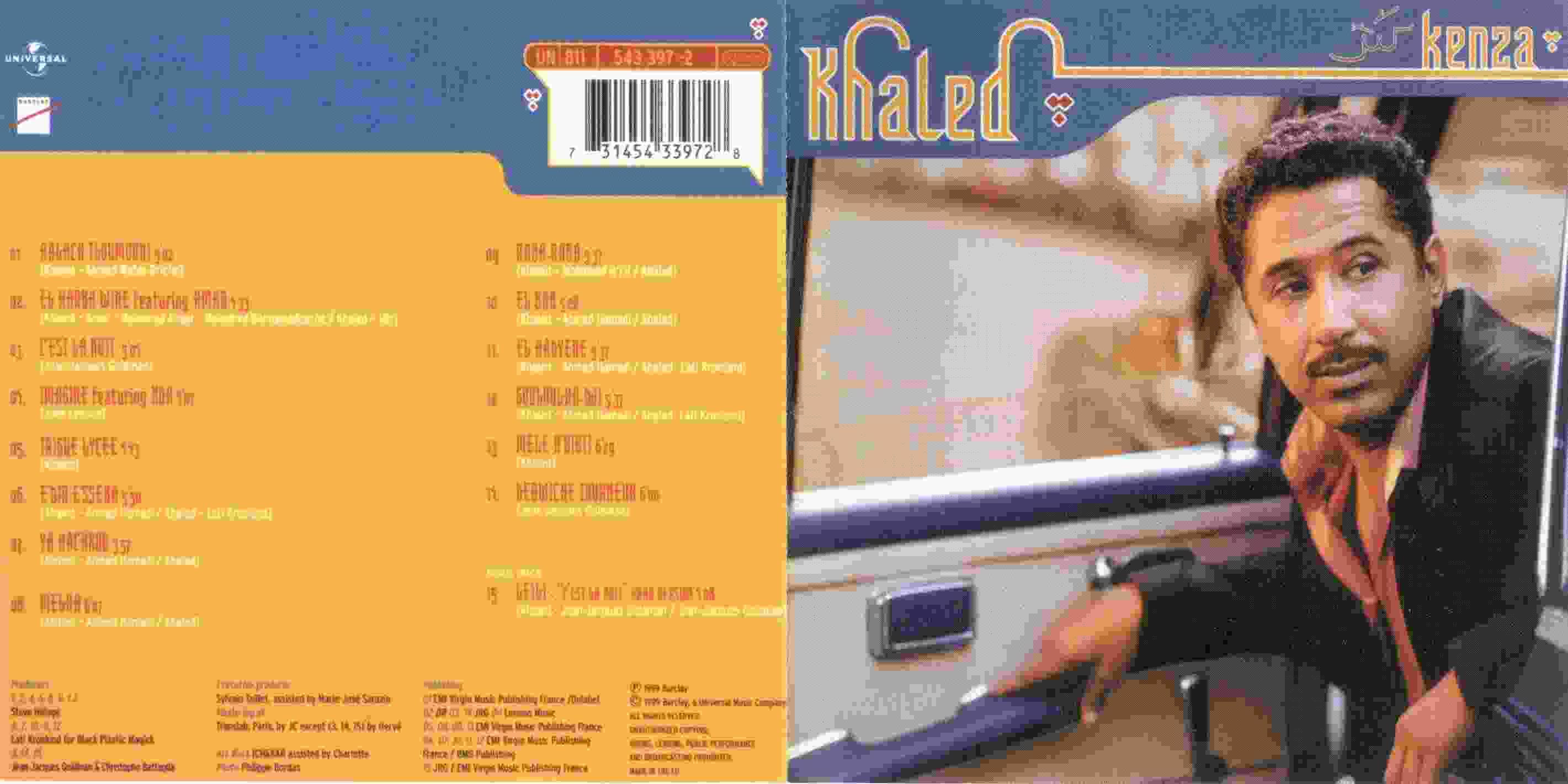 cheb khaled album kenza